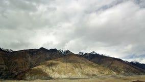 Wolken über Gletscher Inylchek. Kirgystan, zentral stock video footage