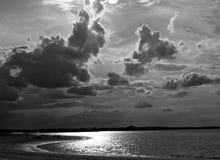 Wolken über Kasan, Tatarstan, Russland Lizenzfreie Stockfotografie