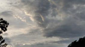 Wolken über Kittery, Maine stockfotografie