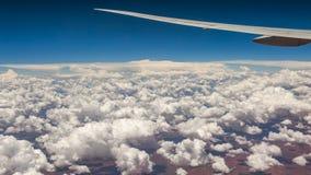 Wolken über Südafrika stockbilder