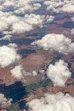 Wolken über Südafrika lizenzfreies stockfoto