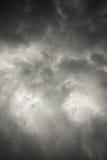 Wolken über See Lizenzfreie Stockfotografie