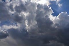 Wolken. Stock Afbeeldingen