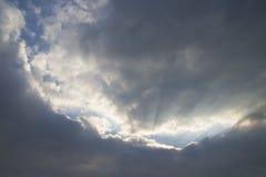 Wolken. Royalty-vrije Stock Afbeeldingen