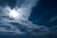 Wolken! Stock Fotografie