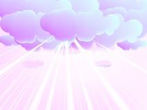Wolken Royalty-vrije Stock Foto