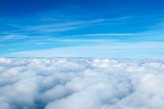 Wolken. Stock Afbeelding