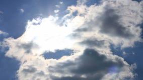 Wolken stock video