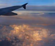 Wolken 4 Stockbild