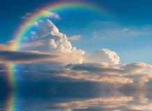Wolken 1 Royalty-vrije Stock Foto's