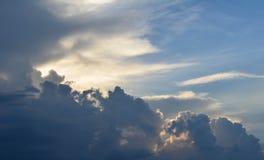 Wolken lizenzfreies stockfoto