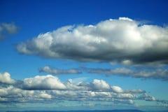 Wolken royalty-vrije stock afbeelding