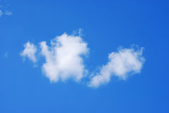 Wolken Royalty-vrije Stock Afbeeldingen