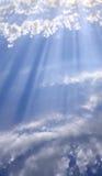 Wolken. Lizenzfreie Stockfotos