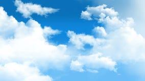 Wolken 01 stock footage