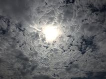 Wolken 032 Stock Foto