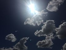 Wolken 007 Stockfoto