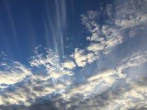 Wolken 023 Stockfoto