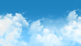 Wolken stock footage