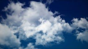 Wolken 2_5 stock video