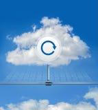 Wolken-Aktualisierung Stockfotografie