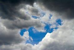 Wolken & hemel Royalty-vrije Stock Foto