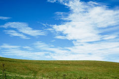 Wolken & Horizon Royalty-vrije Stock Foto's