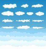 Wolken-Ansammlung vektor abbildung