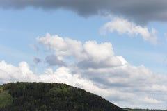 Wolken auf bllue Himmellandschaft Stockfoto
