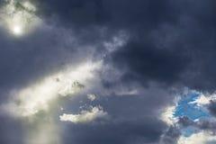 Wolken auf dem Himmel Stockfoto
