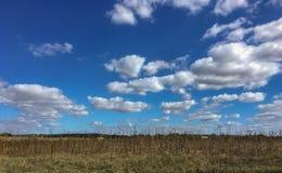 Wolken auf dem Himmel lizenzfreies stockbild