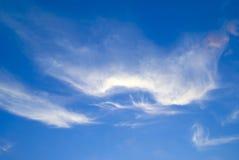 Wolken auf dem Himmel Stockbild