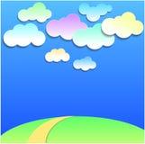 Wolken auf dem Himmel Lizenzfreie Stockfotografie