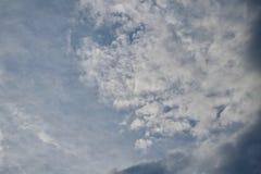 Wolken auf dem Horizont Lizenzfreies Stockbild