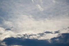 Wolken auf dem Horizont Stockfotos