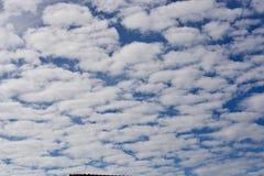 Wolken auf dem Horizont Stockbilder