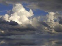 Wolken auf Horizont Lizenzfreies Stockbild