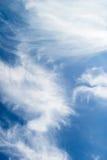 Wolken-Auszug Stockbild