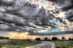 Wolken-Bild Lizenzfreies Stockbild