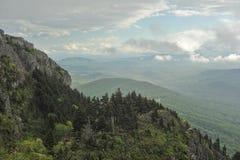 Wolken boven de bergen in Noord-Carolina Royalty-vrije Stock Afbeeldingen