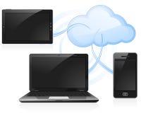 Wolken-Datenverarbeitung Stockfotos