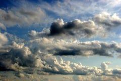 Wolken in de hemel Stock Afbeelding