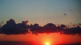 Wolken in de hemel stock footage