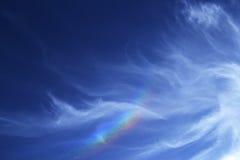 Wolken in de hemel van Jeruzalem Stock Afbeeldingen
