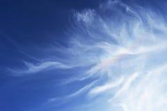 Wolken in de hemel van Jeruzalem Stock Foto's