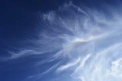 Wolken in de hemel van Jeruzalem Royalty-vrije Stock Foto