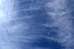 Wolken in de hemel van Jeruzalem Royalty-vrije Stock Afbeeldingen
