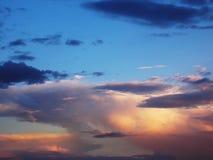Wolken in de ochtend Stock Foto