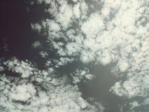 Wolken der Traurigkeit Lizenzfreie Stockfotos