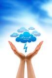 Wolken-Dienstleistungen Stockbilder